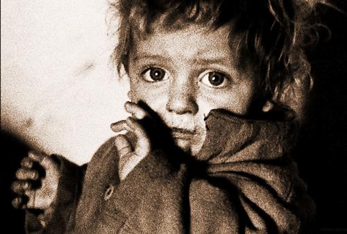 2-123-enfant-Varsovie-1938 / Un monde disparu