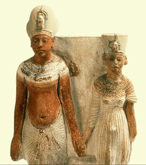 Akhenaton & Néfertit